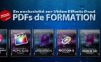 Les livres de formation aux logiciels de Post-Production