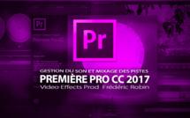 Première Pro CC 2017 : Gestion du son dans la timeline