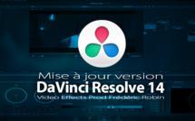 DaVinci Resolve 14 Lite et Studio : mise à jour