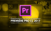 "Première Pro CC 2017 : Panneau Couleur ""Lumetri"""