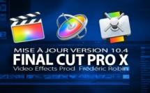 FCPX 10.4 : une mise à jour attendue