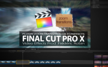 Effets Zoom Transitions pour FCPX
