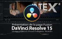 DaVinci Resolve 15 : Présentation de la page Fusion