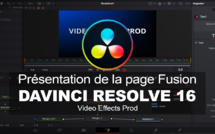 DaVinci Resolve : Présentation de la page Fusion, du node text+ et du node Merge