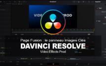 DaVinci Resolve : L'éditeur Images clés dans la page Fusion