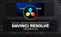DaVinci Resolve : Gestion taille composition et entrée Effect Mask