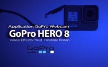 GoPro Hero 8 utilisée comme Webcam sur un ordinateur