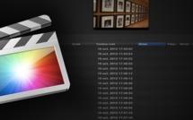 FCPX : nouvelle fenêtre importation des médias.