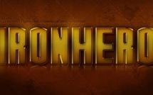 """Free PSD ; Réaliser le titre de """"Iron Hero"""""""