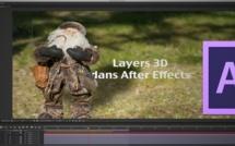 After Effects : Animer une photo en 3D (Préparation des calques avec Photoshop).
