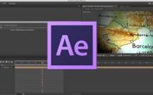 After Effects : Animer une trajectoire sur une carte géographique
