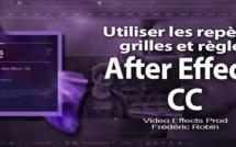 After Effects : utiliser les Repères, grilles et règles.