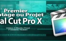 FCPX 10.1 : Créer son premier montage ou projet (video 12)