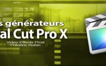 FCPX 10.1 : Les générateurs vidéo (vidéo 31)
