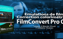 FilmConvert : version Pro OFX pour DaVinci Resolve