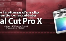 FCPX 10.1 : Gérer les vitesses d'un clip (video 61)