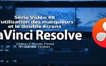 DaVinci Resolve 11 : les marqueurs et la visualisation double écrans #8
