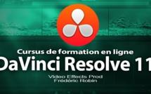 DaVinci Resolve 11 : cursus de formation vidéo