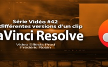 DaVinci Resolve 11 : les différentes versions d'un clip dans la timeline #42