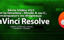 DaVinci Resolve 11 : Trier la timeline avec le mode A ou C, les marqueurs ou les drapeaux #53