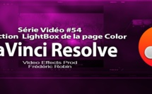 DaVinci Resolve 11 : La LightBox de la page Color #54