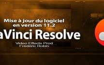 DaVinci Resolve 11 : Mise à jour version 1.2