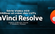 DaVinci Resolve 11 : Utilisation et création des LUTs #59