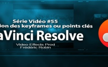 DaVinci Resolve 11 : Introduction à l'animation des Keyframes #55
