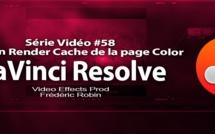 DaVinci Resolve 11 : L'option Render Cache de la page Color #58