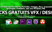 Eléments gratuits pour VFX et Motion Design