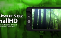 "SmallHD : moniteur HD 502 HDMI/SDI 5"" de haute qualité"