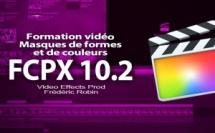 FCPX 10.2 : L'utilisation des masques de forme et de couleur