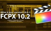 FCPX 10.2 passe à la version 10.2.1