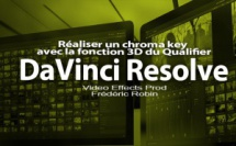 DaVinci Resolve 12 : réaliser un chroma key avec le Qualifier 3D