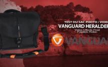 Vanguard Heralder 38 : votre sac d'épaule photo / vidéo