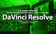 DaVinci Resolve 12 : La page Media (#video5)