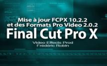 FCPX 10.2 : mise à jour 10.2.2