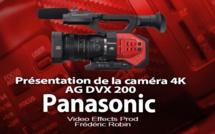 Panasonic AG DVX 200 : Caméra de poing en 4K