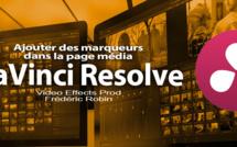 DaVinci Resolve 12 : Ajouter des marqueurs dans la page Média (#video11)