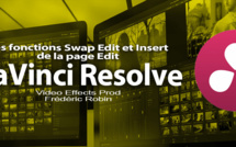 DaVinci Resolve 12 : Swap Edit et Insert (#video17)