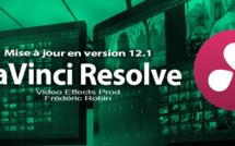 DaVinci Resolve 12 : mise à jour en version 12.1