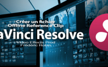 DaVinci Resolve 12 : Offline Reference Clip (#video25)