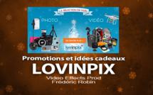 Promotion de Noël et idées de cadeaux chez Lovinpix