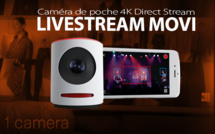 Livestream MOVI : caméra 4k pour le live en direct