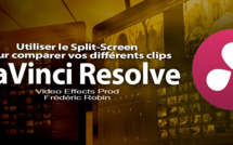 DaVinci Resolve 12 : Utiliser le Split-Screen pour comparer vos clips (#video67)