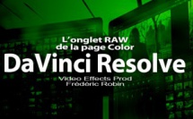 DaVinci Resolve 12 : L'onglet Camera RAW (#video82)