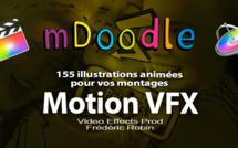 motionVFX : mDoodle 155 animations illustrées