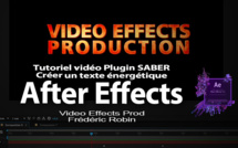 AE Plugin SABER : Tutoriel Animation de texte (Part 1)