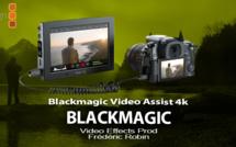 Blackmagic Video Assist enregistrement 4k et ProRes sur carte SD
