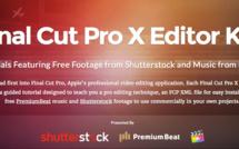 Final Cut Pro X : tutoriels de choc avec les médias associés